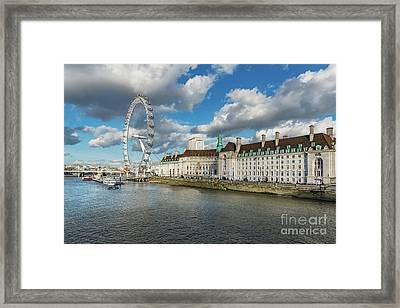The Eye London Framed Print