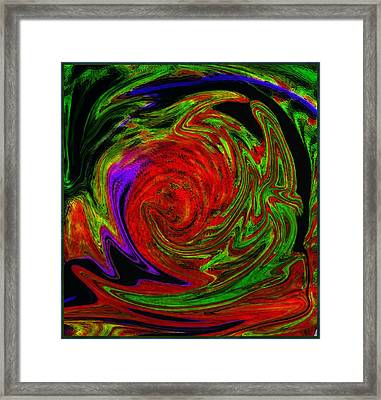 The Eye Framed Print by Mindy Newman