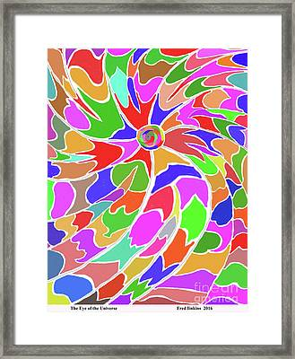 The Eye Of The Universe Framed Print by Fred Jinkins