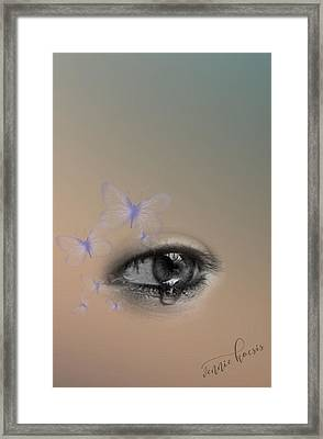 The Eyes Don't Lie Framed Print