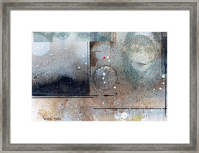 The Eyes Have It Framed Print by Monte Toon
