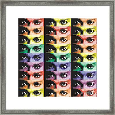 The Eyes Have It Two Framed Print