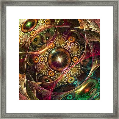 The Eyes Of A Stranger Is Near.  . Framed Print by Tautvydas Davainis