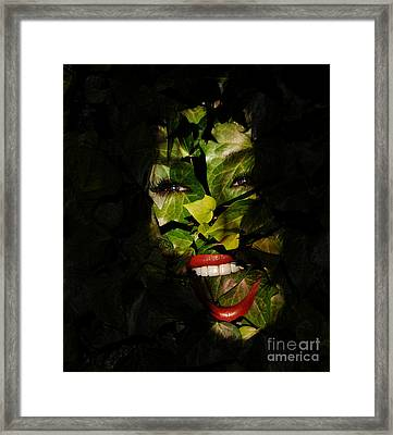 The Eyes Of Ivy Framed Print by Clayton Bruster