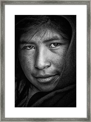 The Eyes Framed Print
