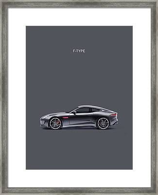 The F Type Framed Print by Mark Rogan