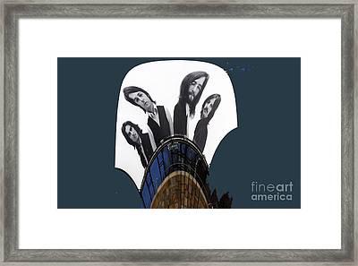 The Fab Four Framed Print