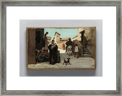 The Fable Of The Miller Framed Print