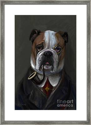 The Fabulous Bentley Framed Print by Stella Violano