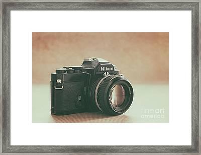 Framed Print featuring the photograph The Fabulous Nikon by Ana V Ramirez