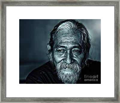 The Face Framed Print