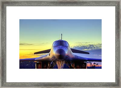 The Face Of American Airpower Framed Print by JC Findley