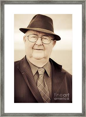 The Face Of Business From Yesteryear Framed Print by Jorgo Photography - Wall Art Gallery
