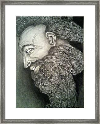 The Face Of God Framed Print
