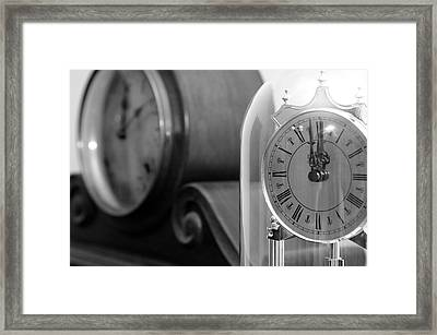 Framed Print featuring the photograph The Faces Of Time by Wanda Brandon