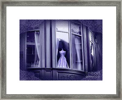 The Fading Scent Of Lavender Framed Print