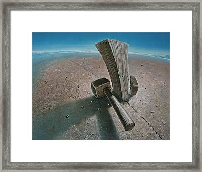 The Failure Framed Print by De Es Schwertberger