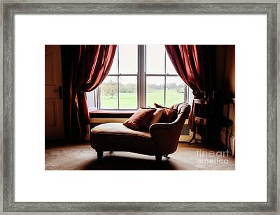 The Fainting Couch Framed Print