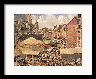 Fair On The Square Framed Prints
