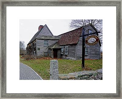 The Fairbanks House Framed Print
