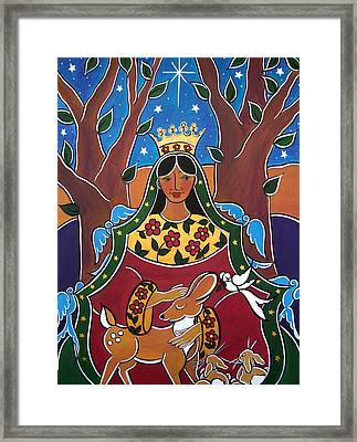 Framed Print featuring the painting The Fairest One by Jan Oliver-Schultz