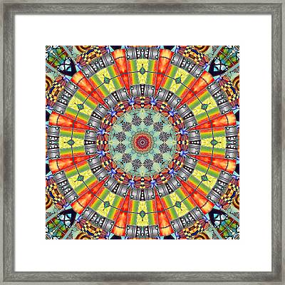 The Fairground Collective 01  Framed Print by Wendy J St Christopher