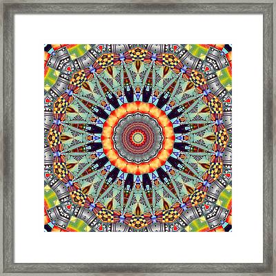 The Fairground Collective 03 Framed Print