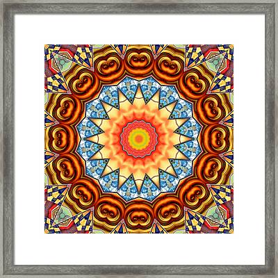 The Fairground Collective 05 Framed Print by Wendy J St Christopher
