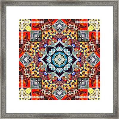 The Fairground Collective 08 Framed Print