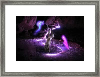 The Fairies' Cave Framed Print