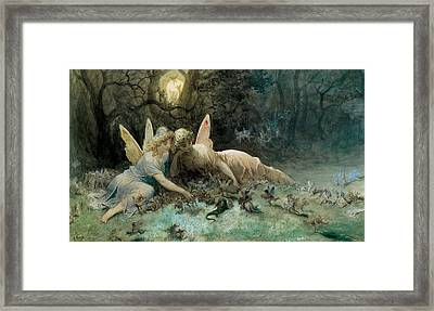 The Fairies  Framed Print
