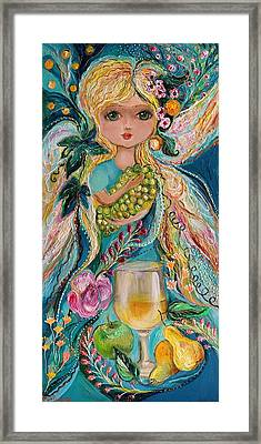 The Fairies Of Wine Series - Chardonnay Framed Print