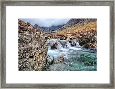 The Fairy Falls Framed Print