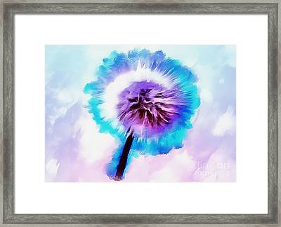The Fairy Of Wishes Framed Print by Krissy Katsimbras