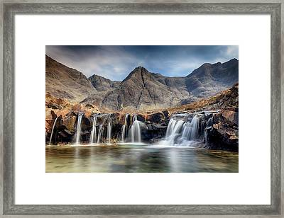 Framed Print featuring the photograph The Fairy Pools - Isle Of Skye 3 by Grant Glendinning