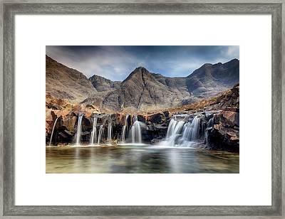 The Fairy Pools - Isle Of Skye 3 Framed Print