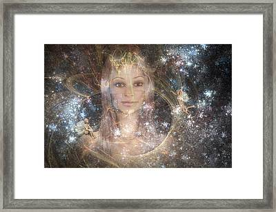 The Fairy Queen Framed Print by Carol and Mike Werner