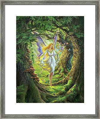 The Fairy Queen Framed Print by Mark Fredrickson