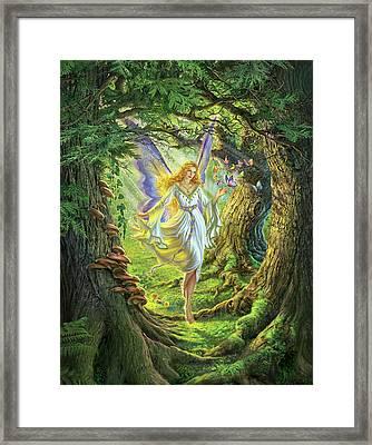 The Fairy Queen Framed Print