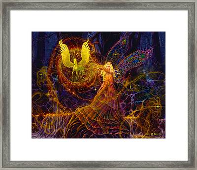 The Fairy Spell Framed Print by Steve Roberts
