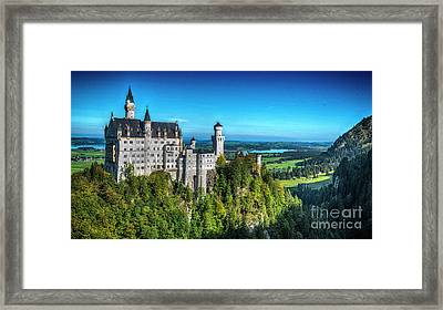 The Fairy Tale Castle Framed Print