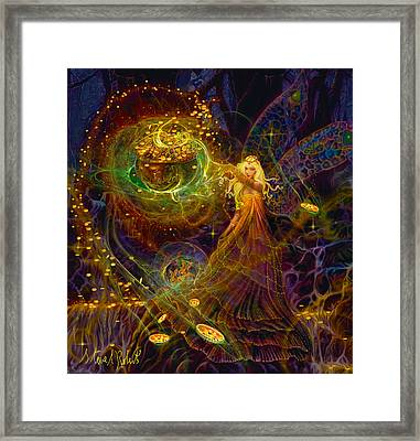 The Fairy Treasure Framed Print by Steve Roberts
