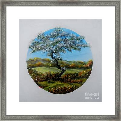 The Fairy Tree Framed Print by Avril Brand