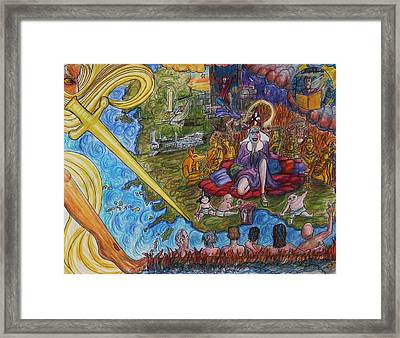 The Fall And Rise Of Jezebel Framed Print by Richard  Hubal