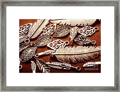 The Fall Collection Framed Print
