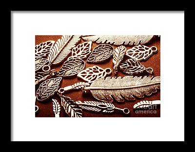 Sterling Silver Jewelry Framed Prints