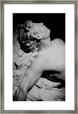 The Fall Of Icarus Framed Print by Paul Ambroise Slodtz