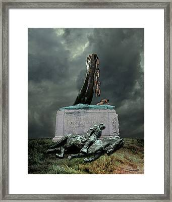 The Fall Of Lee Framed Print