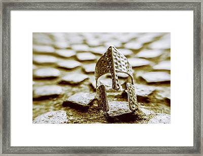 The Fall Of Rome Framed Print