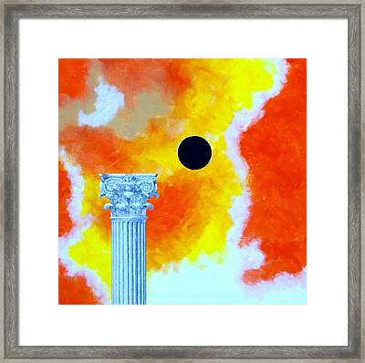 The Fall Of Rome Framed Print by Thomas Gronowski
